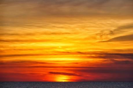 Sunset over Herring Cove003