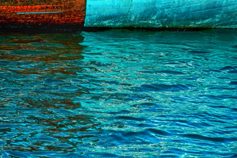 Abstract Scenes of the Sea: Boat Hulls 001